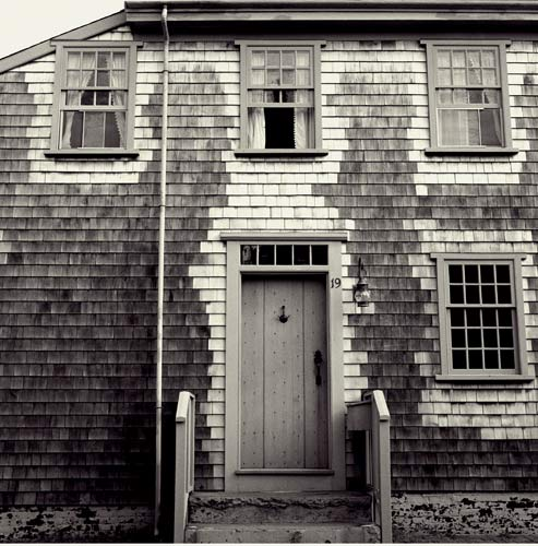 Gregory Spaid On Nantucket Black White Photography Of